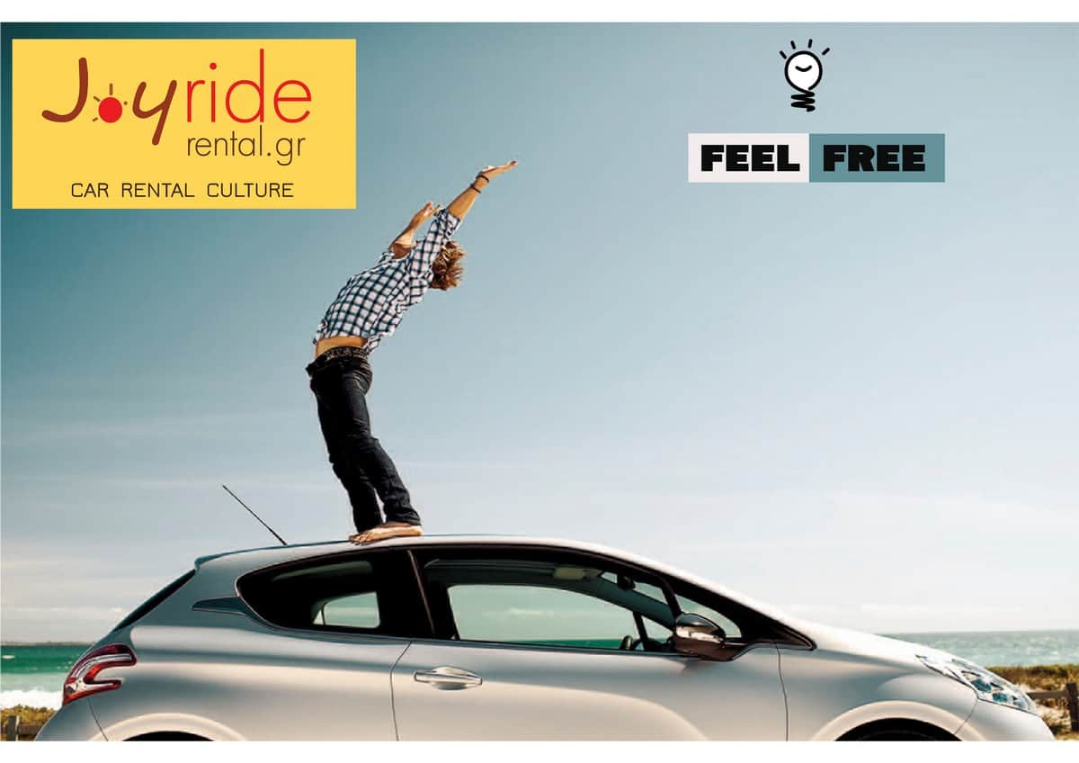 Joyride Car Rental - Poster