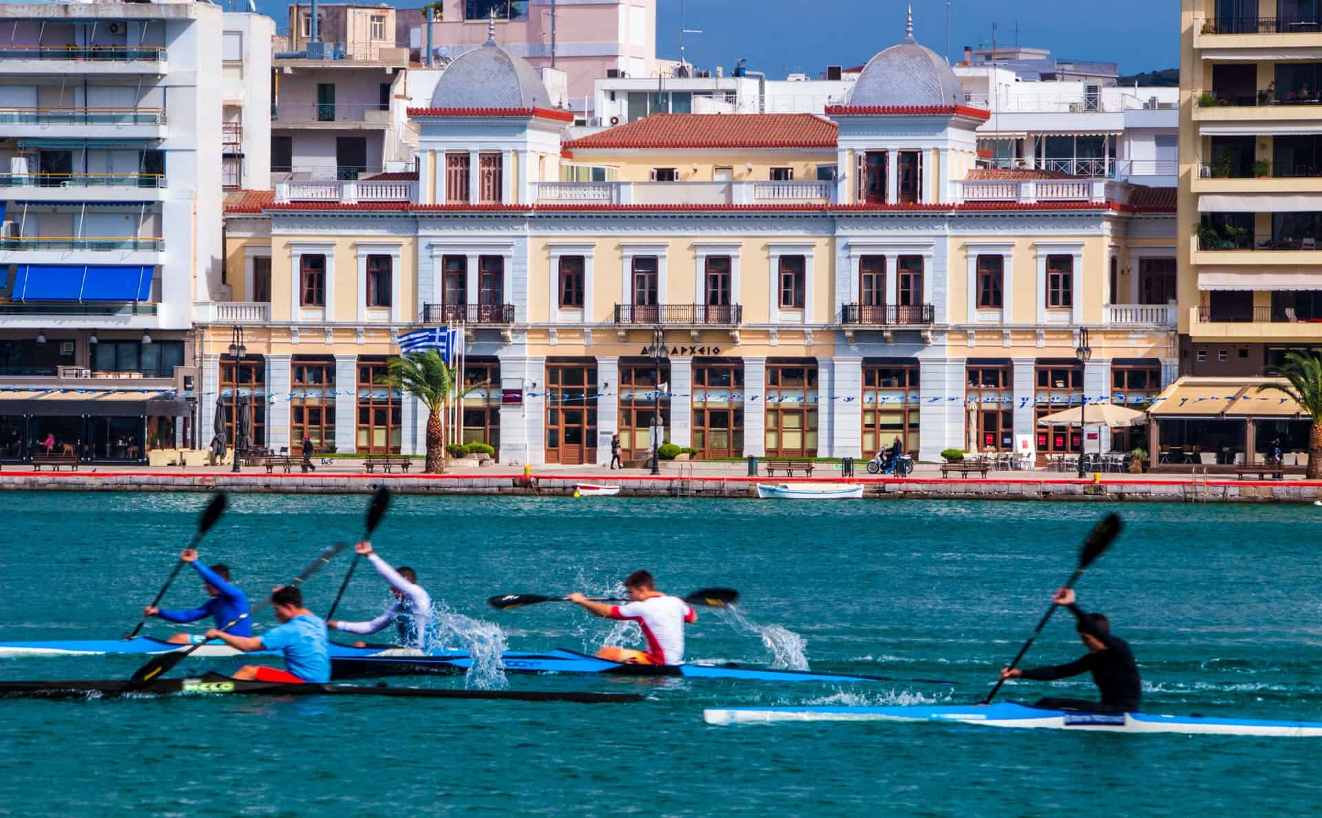 Rowers at Chalkida